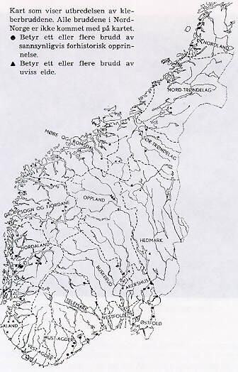 kart over nord nirge