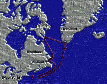 journeys of leif ericson Leif ericson was a viking explorer from norway who is said to have found north america long before christopher columbus this is a timeline of his life.