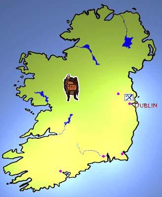 Map Of Ireland Vikings.Map Of Viking Ireland